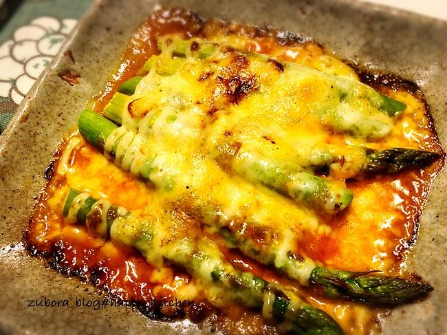 簡単!アスパラのチーズ焼きのレシピ