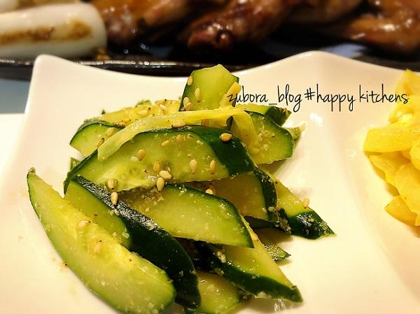 副菜②きゅうりの胡麻和えのレシピ