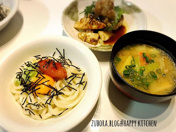 明太子の釜揚げうどん(麺つゆバター)のレシピ
