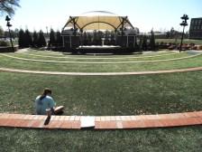 View of the D. Douglas Barnard, Jr. Amphitheatre at Augusta University's Summerville Campus. (Photo: Jamie Sapp)