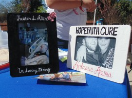 Here are some photographs of Brittney Allen and her family, including photographs of Brittney Allen and her brother Justin who died of aplastic anemia on October 29, 2015. (Photo: Jamie Sapp)