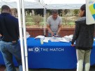 Rod Gunn of Be The Match gives students and others information about the Be The Match Marrow Donor Registry Drive, why the drive is important and how to register for it. (Photo: Jamie Sapp)