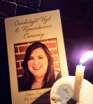 Candlelight Vigil and Remembrance for Katie Rogers on Dec. 2. (Photo: Sequoia Sinclair)