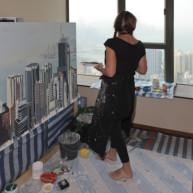 peintures-de-hong-kong-peintre-michelle-auboiron-peindre-la-ville-24 thumbnail