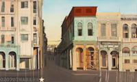 Peinture du Malecon par Michele Auboiron