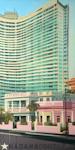 Les tours du Malecon - Peinture de la Havane par Michelle Auboiron