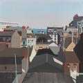 Peinture des toits de Dinard par Michelle AUBOIRON