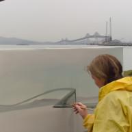 Michelle-Auboiron-Bridges-of-Fame-peinture-live-New-York-San-Francisco-2003--11 thumbnail