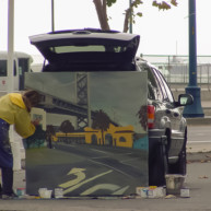 Michelle-Auboiron-Bridges-of-Fame-peinture-live-New-York-San-Francisco-2003--28 thumbnail