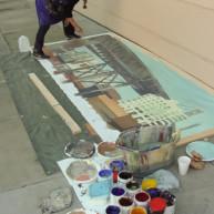 Michelle-Auboiron-Bridges-of-Fame-peinture-live-New-York-San-Francisco-2003--32 thumbnail