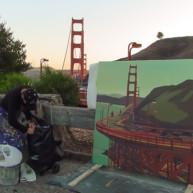 Michelle-Auboiron-Bridges-of-Fame-peinture-live-New-York-San-Francisco-2003--34 thumbnail