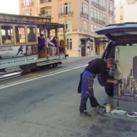 Michelle-Auboiron-Bridges-of-Fame-peinture-live-New-York-San-Francisco-2003--39 thumbnail