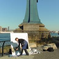 Michelle-Auboiron-Bridges-of-Fame-peinture-live-New-York-San-Francisco-2003--46 thumbnail