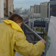 Michelle-Auboiron-Bridges-of-Fame-peinture-live-New-York-San-Francisco-2003--57 thumbnail