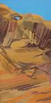 Peinture de l'Ouest américain par Michelle Auboiron - Arch Kings - Arches National Park - Moab - Utah