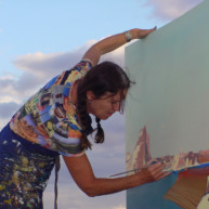 Michelle-Auboiron-Colorado-peintures-Ouest-americain-Utah-Nevada-Arizona-Californie-2001--16 thumbnail