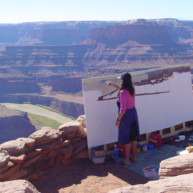 Michelle-Auboiron-Colorado-peintures-Ouest-americain-Utah-Nevada-Arizona-Californie-2001--31 thumbnail