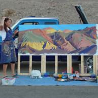 Michelle-Auboiron-Colorado-peintures-Ouest-americain-Utah-Nevada-Arizona-Californie-2001--42 thumbnail