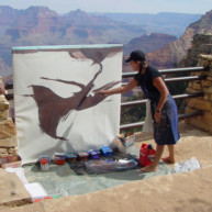 Michelle-Auboiron-Colorado-peintures-Ouest-americain-Utah-Nevada-Arizona-Californie-2001--5 thumbnail