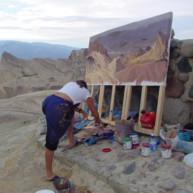 Michelle-Auboiron-Colorado-peintures-Ouest-americain-Utah-Nevada-Arizona-Californie-2001--50 thumbnail