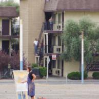 Michelle-Auboiron-Motels-of-the-50-s-peinture-live-a-Las-Vegas-16 thumbnail