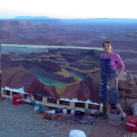 Michelle-Auboiron-Colorado-peintures-Ouest-americain-Utah-Nevada-Arizona-Californie-2001--33 thumbnail