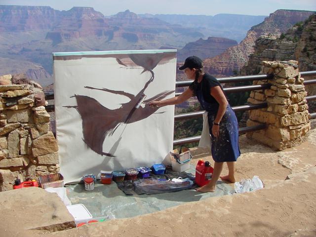 Michelle-Auboiron-Colorado-peintures-Ouest-americain-Utah-Nevada-Arizona-Californie-2001--5