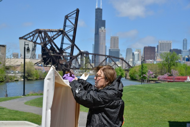 02-Saint-Charles-Air-Line-Bridge-Chicago-painting-Michelle-Auboiron-2