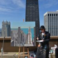 Peinture12-Deck-Chicago-painting-Michelle-Auboiron-10 thumbnail