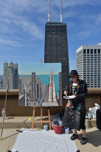 Peinture12-Deck-Chicago-painting-Michelle-Auboiron-10