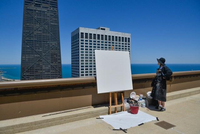 Peinture12-Deck-Chicago-painting-Michelle-Auboiron-2