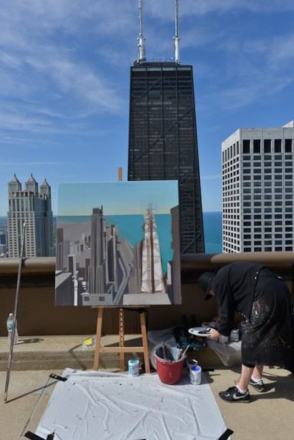 Peinture12-Deck-Chicago-painting-Michelle-Auboiron-9