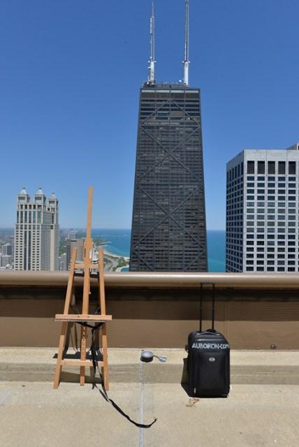 Peinture12-Deck-Chicago-painting-Michelle-Auboiron