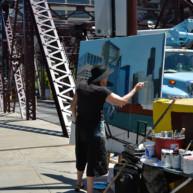 Kinzie-strett-Bridge-Chicago-painting-by-Michelle-Auboiron-6 thumbnail