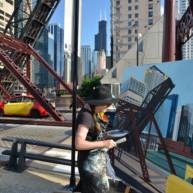 Kinzie-strett-Bridge-Chicago-painting-by-Michelle-Auboiron-8 thumbnail