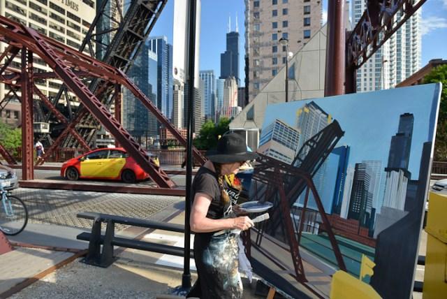 Kinzie-strett-Bridge-Chicago-painting-by-Michelle-Auboiron-8