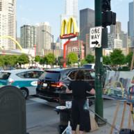 Mac-Donald-s-Chicago-Clark-Ontario-Peinture-Painting-by-Michelle-Auboiron-11 thumbnail