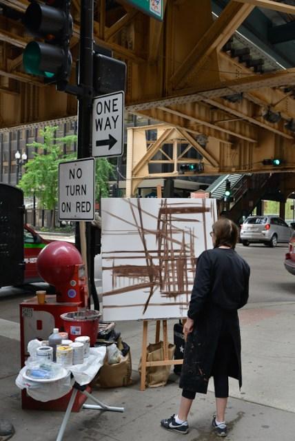 Van-Buren-Dearborn-Chicago-Paining-by-Michelle-Auboiron-3