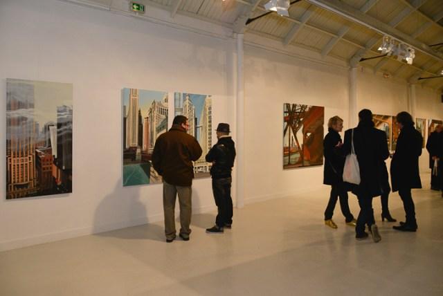 Vernissage - Espace Commines - Paris - 2015 - Photo Emmanuel Aguirre