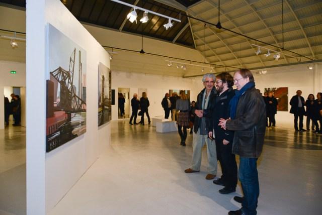 Vernissage - Espace Commines - Paris - 2015 - Emmanuel Aguirre