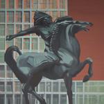 Peinture de Chicago par Michelle AUBOIRON - Painting of Chicago by Michelle AUBOIRON - The Spearman