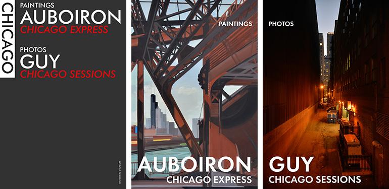 Chicago-Express-peintures-Michelle-Auboiron-Chicago-Sessions-photos-Charles-Guy