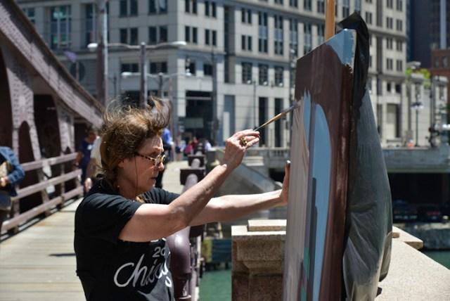 Peintures-live-de-Chicago-par-Michelle-AUBOIRON-19