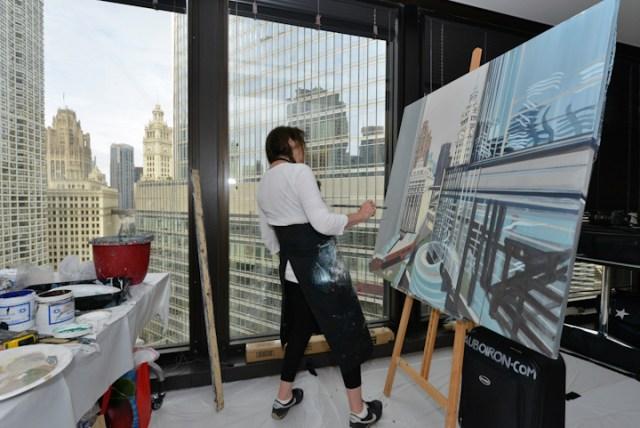 Peintures-live-de-Chicago-par-Michelle-AUBOIRON-3