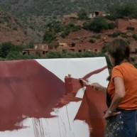 michelle-auboiron-peintre-en-action-sud-marocain- thumbnail