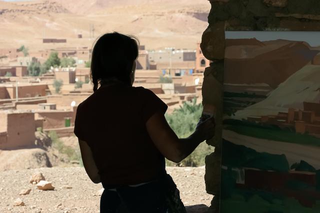 michelle-auboiron-peintre-en-action-sud-marocain--13