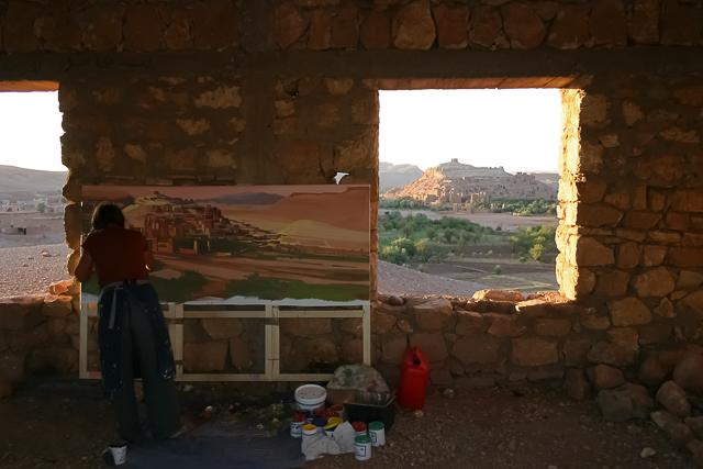 michelle-auboiron-peintre-en-action-sud-marocain--15