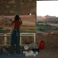michelle-auboiron-peintre-en-action-sud-marocain--16 thumbnail