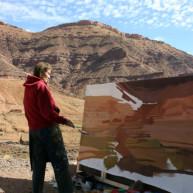 michelle-auboiron-peintre-en-action-sud-marocain--4 thumbnail