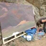 michelle-auboiron-peintre-en-action-sud-marocain--8 thumbnail